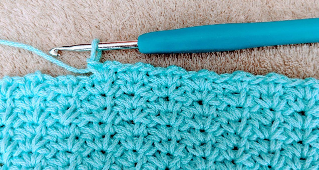 Crochet Spider Stitch Potholder