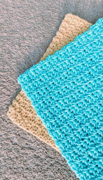 Crochet Spider Stitch Potholder Free Pattern
