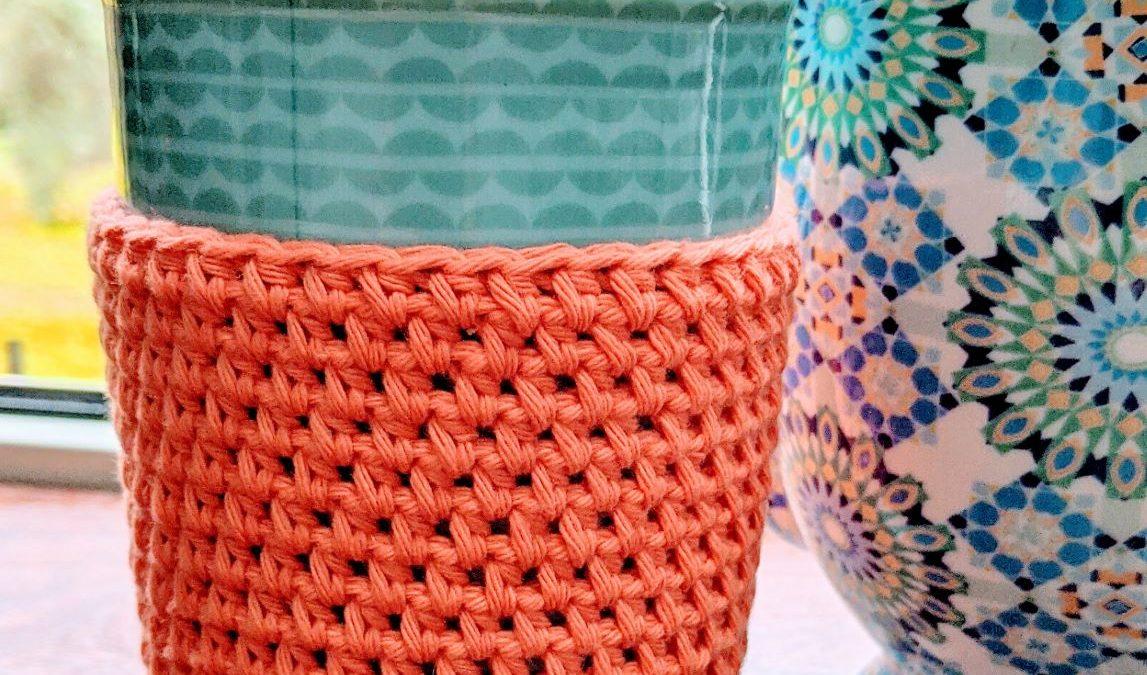Crochet Simple Cup Cozy