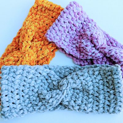 crochet ear warmer headbands